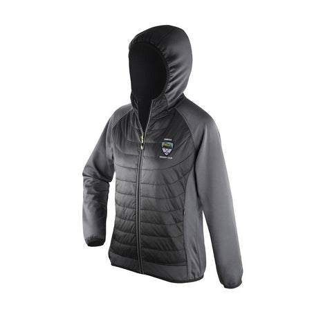Kinross Hockey Club Mens Zero Gravity Jacket Black/Grey