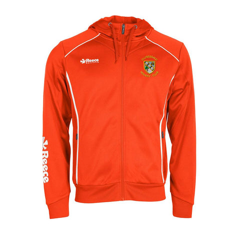 Clydesdale Hockey Club Youths TTS Hoodie Orange