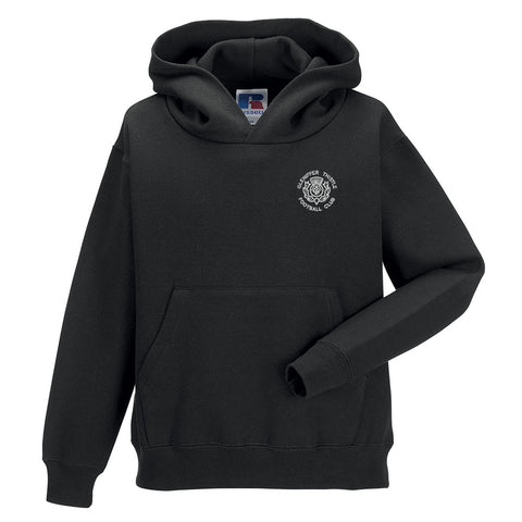 Gleniffer Thistle FC Youth Hooded Sweatshirt Black