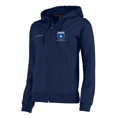 Glasgow Mid Argyll Centro Ladies Hooded Zipped Sweat Navy
