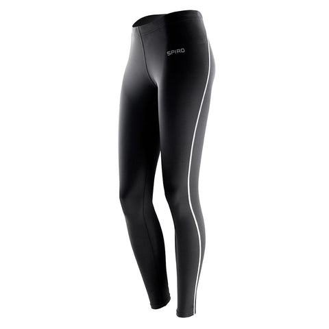 Kinross Hockey Club Ladies Bodyfit Base Layer Leggings Black