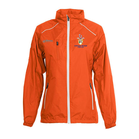Clydesdale Western Hockey Club Ladies Tech Jacket Orange