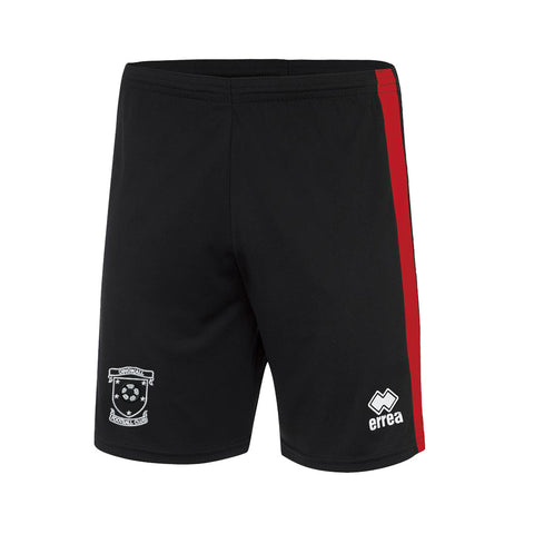 Dingwall Football Club (MIDDLETON ROSS) Youth Bolton Shorts Black/Red