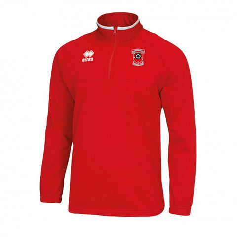 Dingwall Football Club Youth Mansel 3.0 Quarter Zip Red