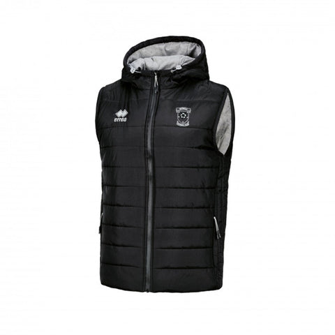 Dingwall Football Club Youth Bjorn Gilet Black