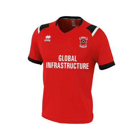 Dingwall Football Club (GLOBAL INFRASTRUCTURE) Lucas Shirt Red/Black/White