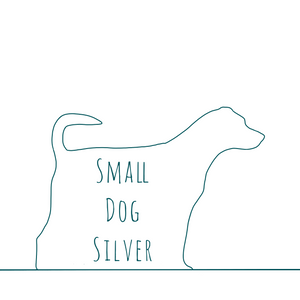 Small Dog Silver Logo