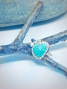 Lagoon - Amazonite & Sterling Silver Ring
