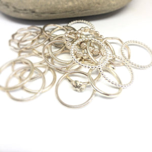 Wave Stacking Ring