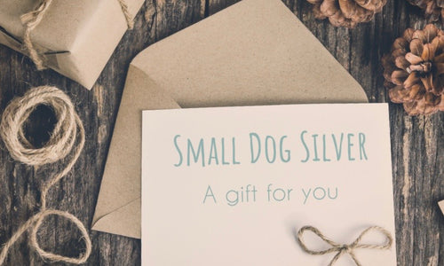 Small Dog Gift Card