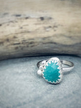 Load image into Gallery viewer, Lagoon - Amazonite & Sterling Silver Ring