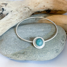 Load image into Gallery viewer, Turquoise Spinner Bangle