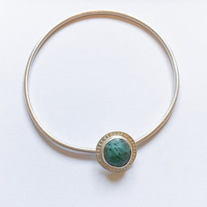 Turquoise Spinner Bangle