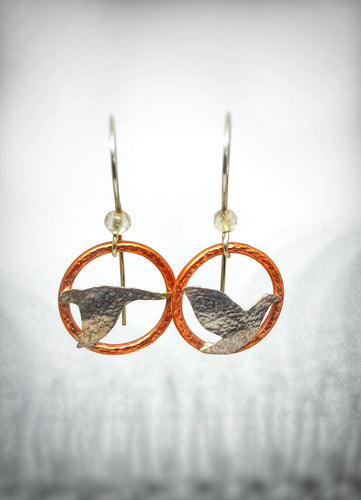 Flying Birds Earrings