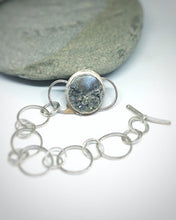 Load image into Gallery viewer, Garden - Sterling Silver & Agate bracelet
