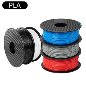 filament for 3d printer, 3d printing materials, 1.75mm pla filament, multi color pla filament