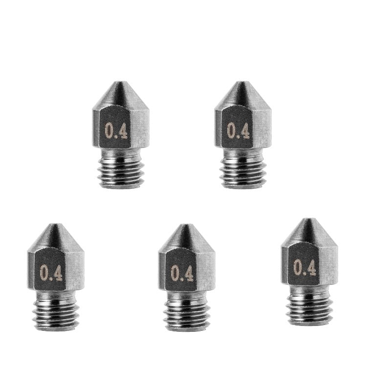 Hardened Tool Steel Tungsten Alloy 3D Printer Nozzles