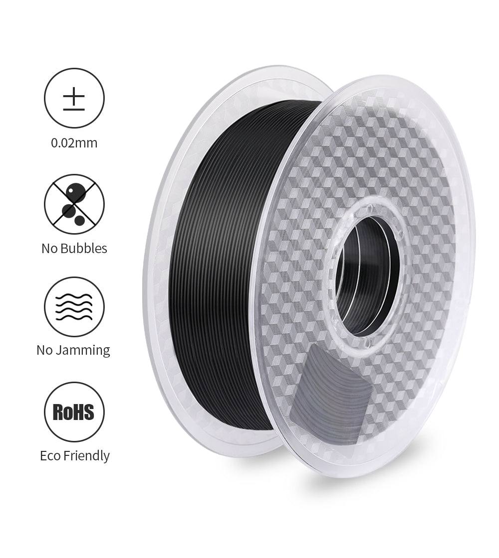 Sovol 2 Rolls 1.75mm Pla Filament 1Kg Black and 1Kg White, 0.02 Accuracy, 3D Printer Filament - Sovol3d