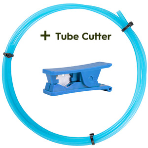 Translucent Blue Bowden PTFE Tubing
