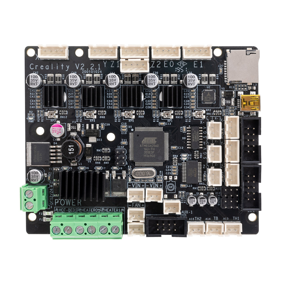 Upgraded Silent Mainboard (V2.2.1) With TMC2208 Driver