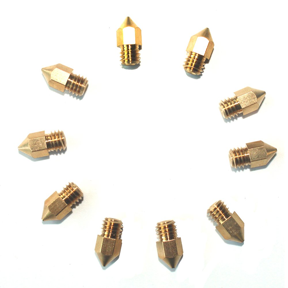Brass Nozzles Print Head Replacement For Sovol Sv01 3D Printer