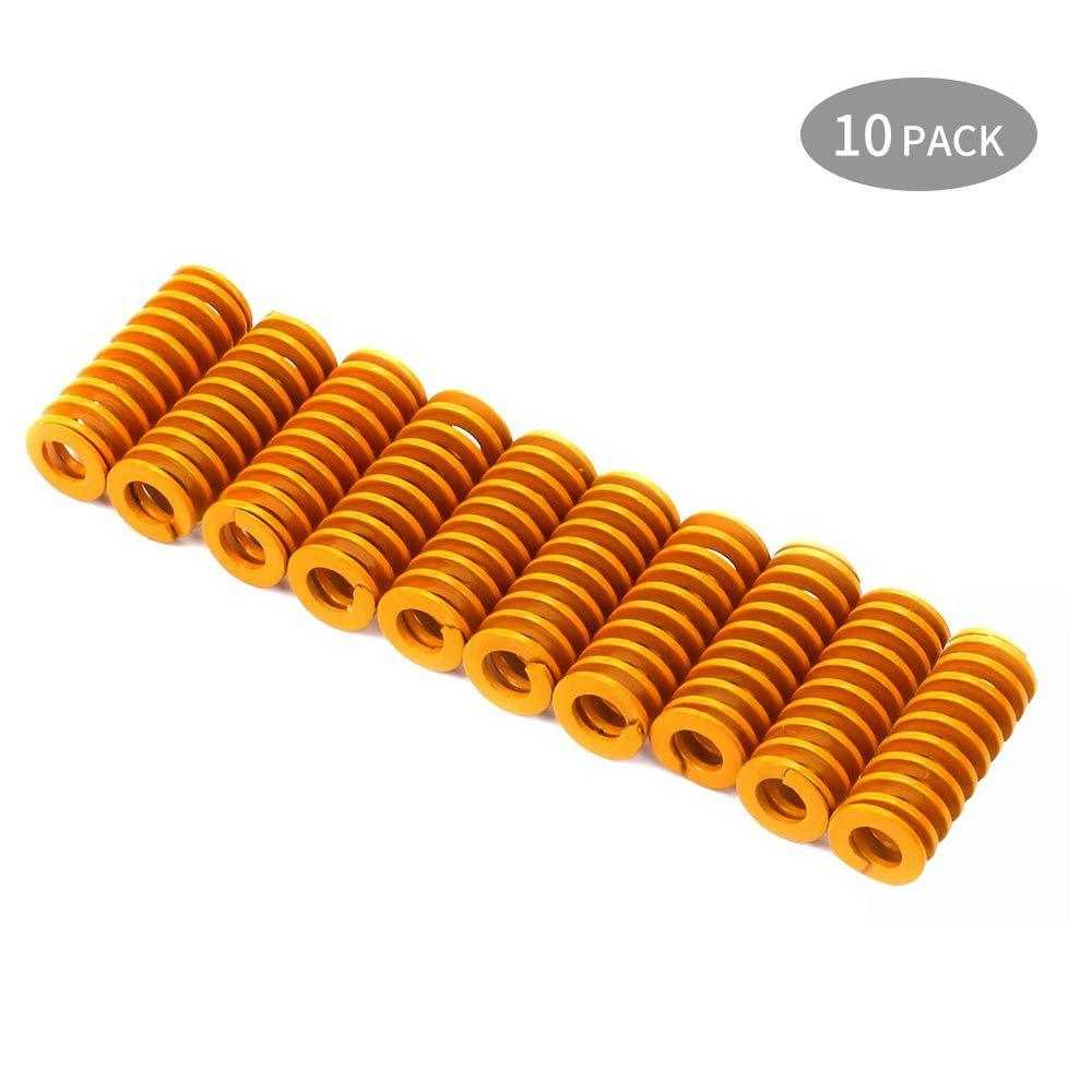 Sovol 10pcs 20mm spring light load, Heat bed bottom Connect Leveling Die spring - Sovol3d