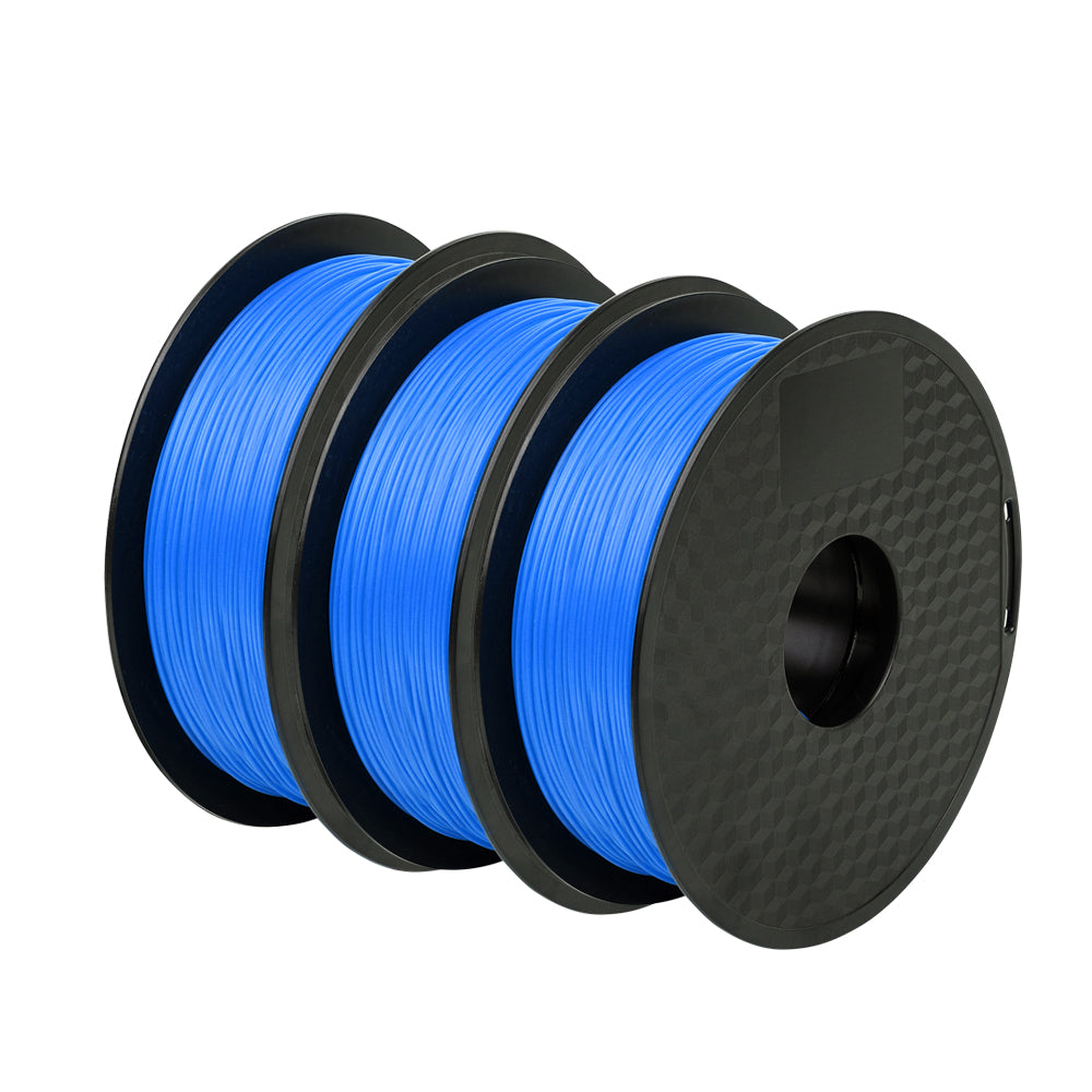3Pack Blue PLA Filament 1.75mm - Sovol3D.com
