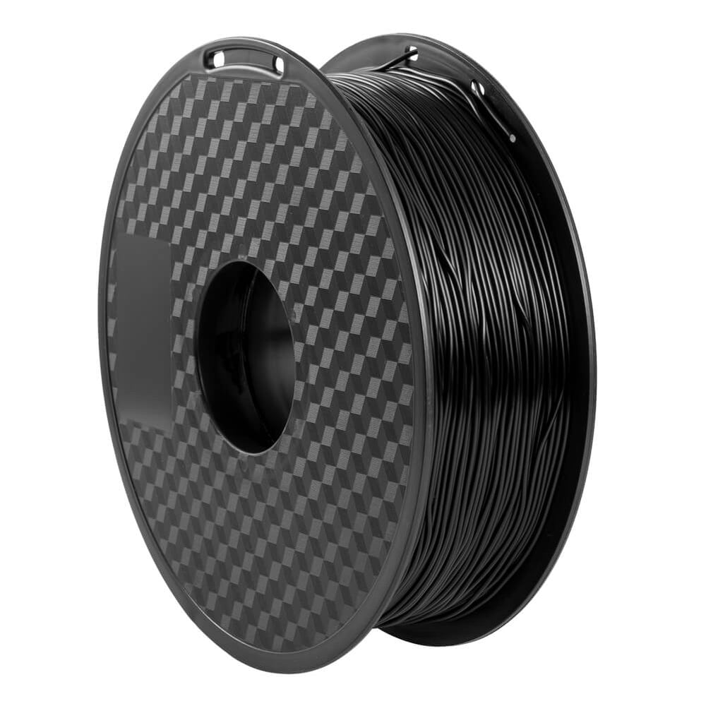 A Roll of TPU Filament Black 1.75mm Flexible