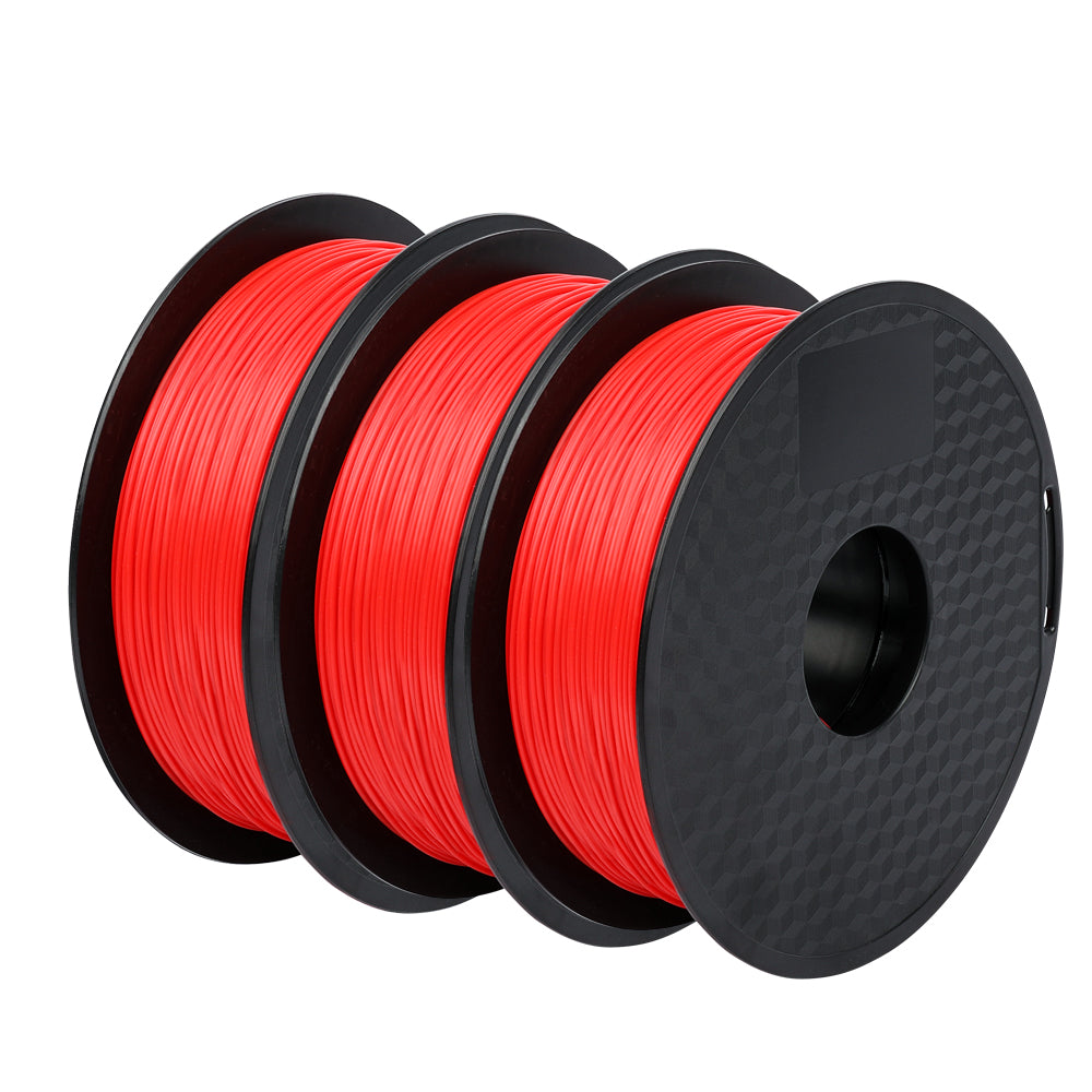 3Pack Red PLA Filament 1.75mm - Sovol3D.com