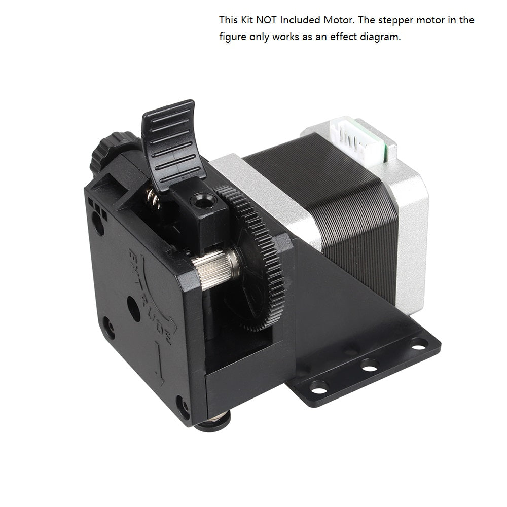 this kit not included motor, the stepper motor in the figure only works as an effect diagram