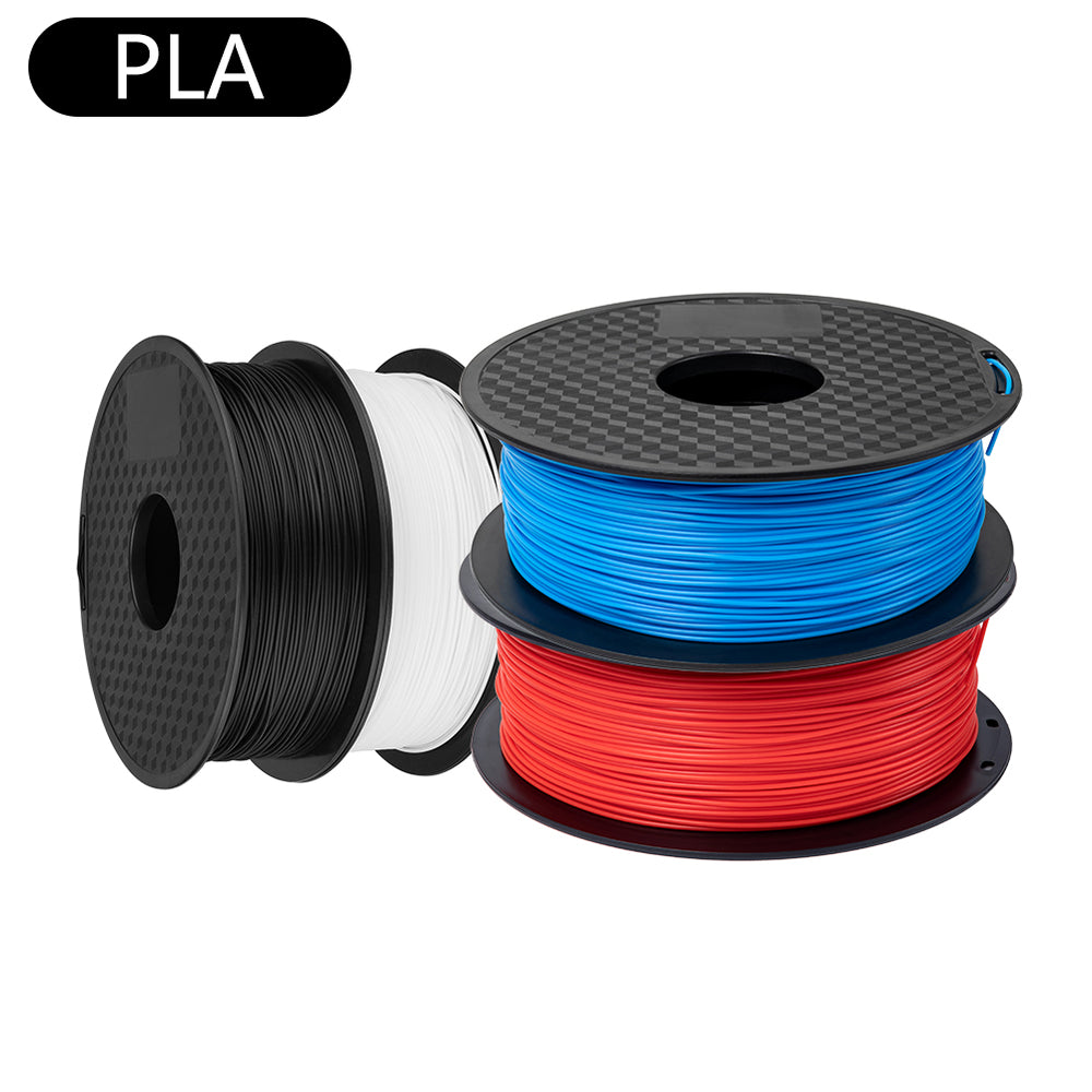 Sovol 1.75mm PLA Filament 1KG/2.2 LBS / Pack Black White Red Blue