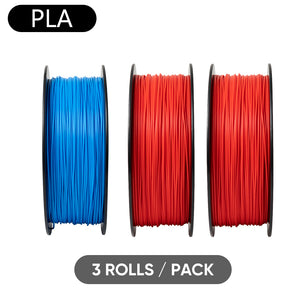 Sovol 3D Printer PLA 1.75mm Filament 3 Rolls/Pack