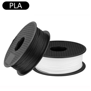 Sovol 2 Rolls 1.75mm PLA Filament 1Kg Black and 1Kg White