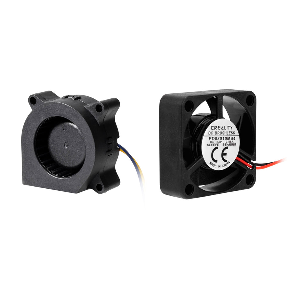 24V 3010 hydraulic Cooling Fan and 24V 4020 hydraulic Blower Fan