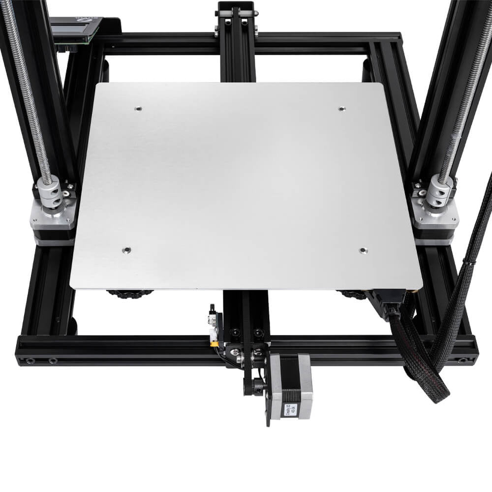 Aluminum Heated Bed PCB Heatbed Platform installed on 3D Printer