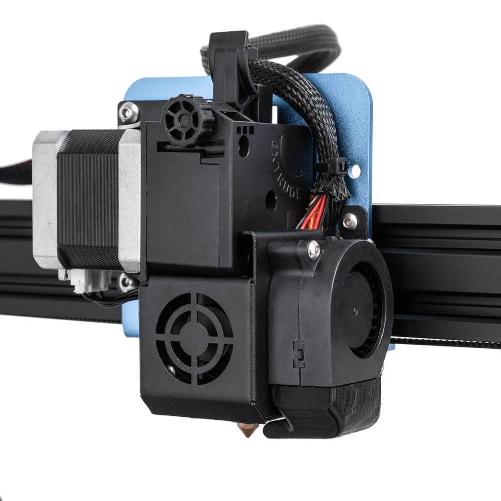 24V 4020 Hydraulic Blower Fan Mounted on 3D Printer
