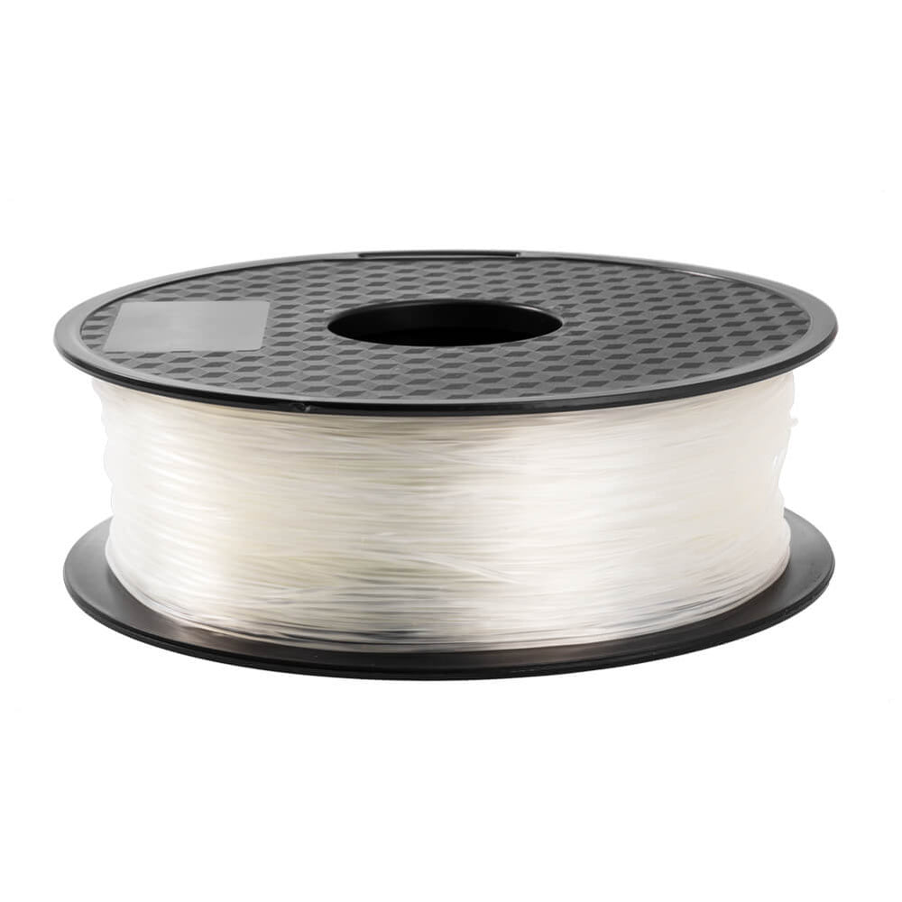 Transparent TPU Filament 1.75mm Flexible