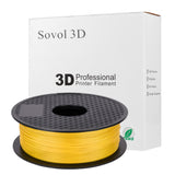 Yellow TPU Filament Package