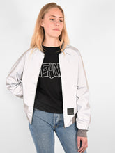 Load image into Gallery viewer, BOMBER JACKET REFLECTIVE