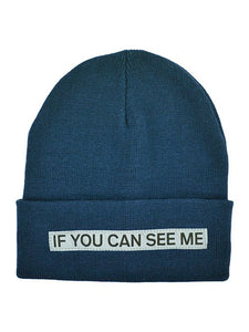 BEANIE ORION BLUE REFLECTIVE