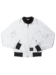 BOMBER JACKET REFLECTIVE