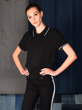 Load image into Gallery viewer, UNISEX POLO BLACK