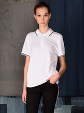 Load image into Gallery viewer, UNISEX POLO PIQUE WHITE