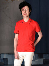 Load image into Gallery viewer, UNISEX POLO PIQUE RED