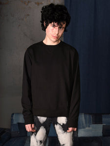 UNISEX SWEAT BLACK