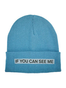 BEANIE PROVINCIAL BLUE REFLECTIVE