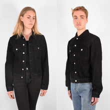 Load image into Gallery viewer, ÖA DENIM JACKET BLACK
