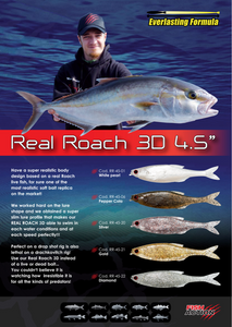 "Real Roach 3D 4.5"" by Fish Action"