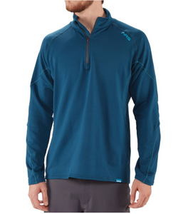 Leichtes Herren H2 Core 1/4 Zip Shirt / Men's H2Core Lightweight Quarter Zip Shirt by NRS