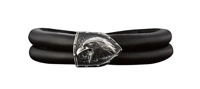 Leder Armband Herren Single,  - Rebeligion True Silver-Offizieller Shop